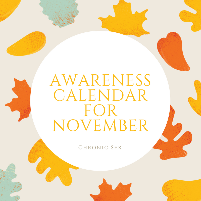 Awareness Calendar for November