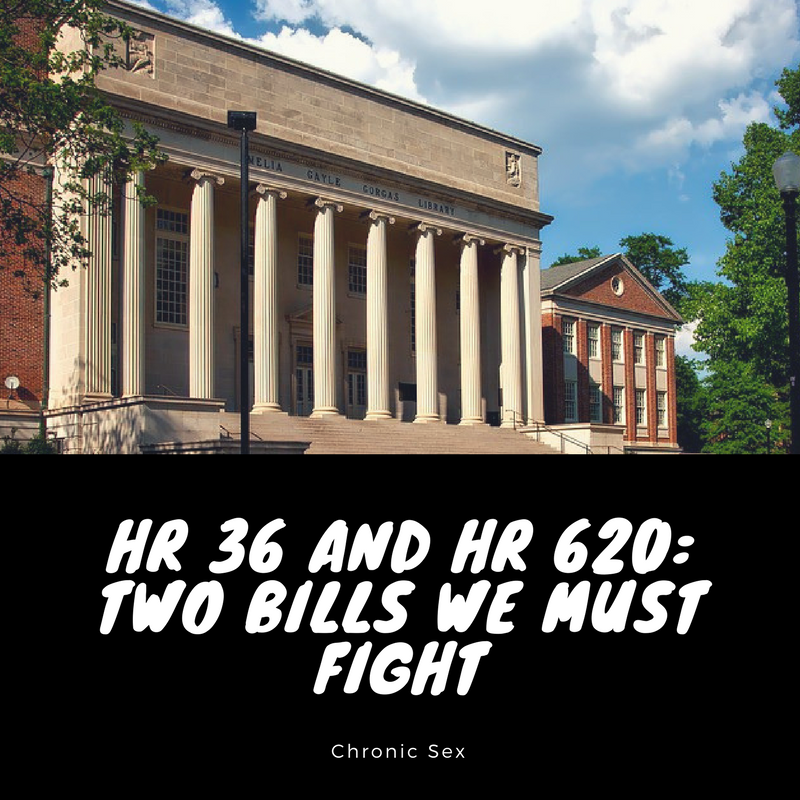 HR 36 and HR 620: Two Bills We Must Fight