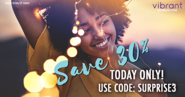 Vibrant Birthday Sale: 30% Off