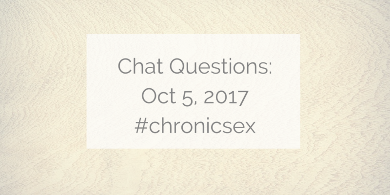 Chat Questions: Oct 5, 2017