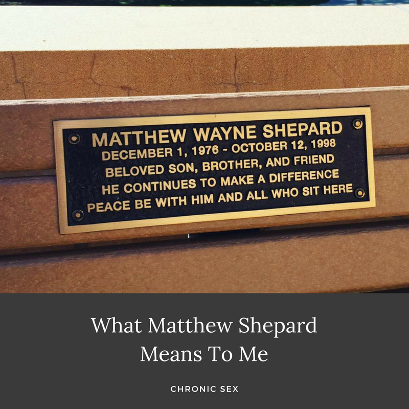 What Matthew Shepard Means To Me