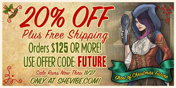 Amazing SheVibe Sale