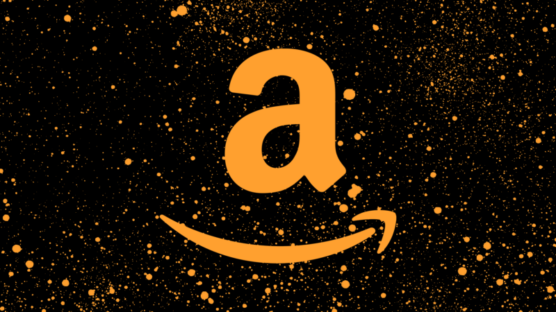 orange amazon logo