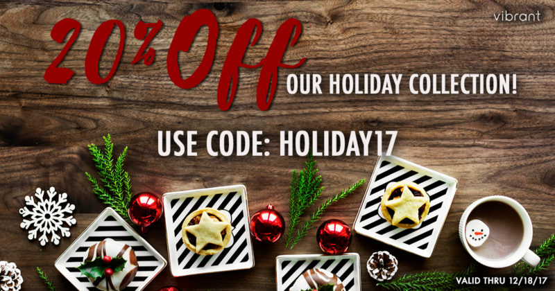 Vibrant Holiday Sale