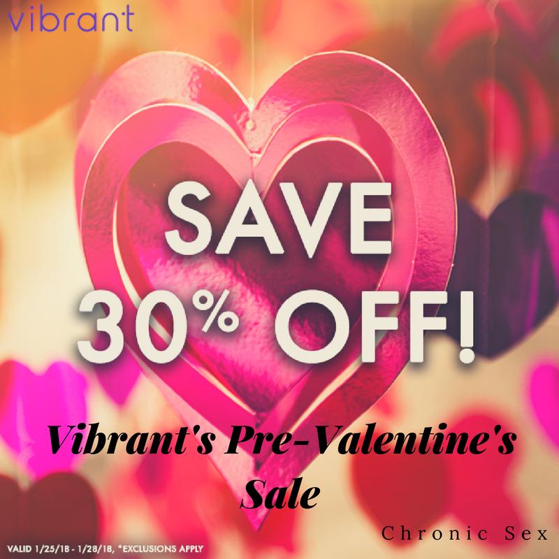 Vibrant's Pre-Valentine's Sale